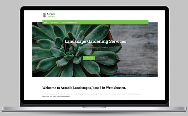 Arcadia Landscapes Website