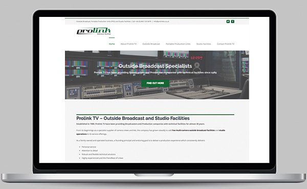 Prolink TV Website