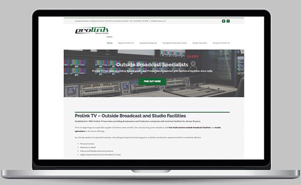 Prolink TV Website