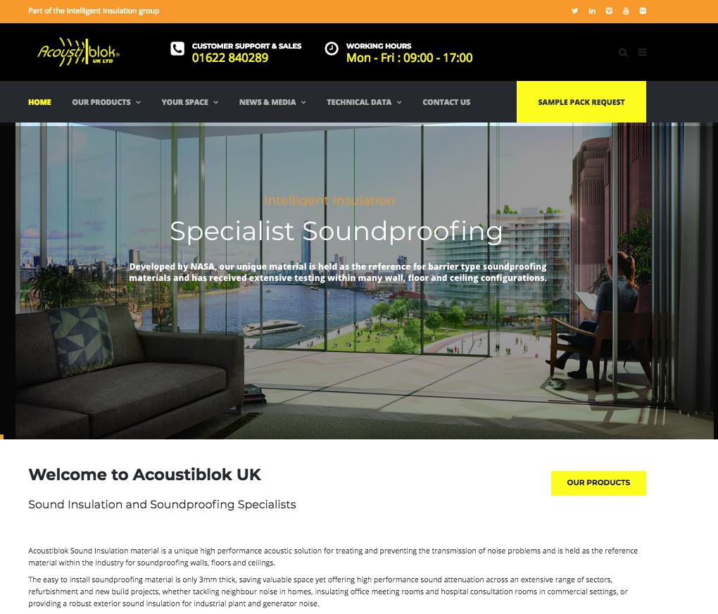 Acoustiblok Full Size Website